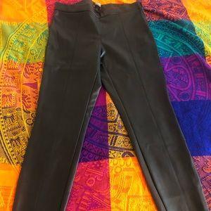 Faux-leather Zara black leggings